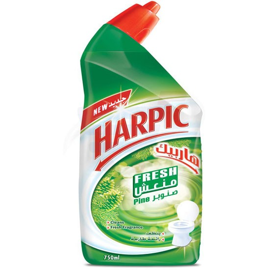 Harpic Fresh Pine Liquid Toilet Cleaner 750ml