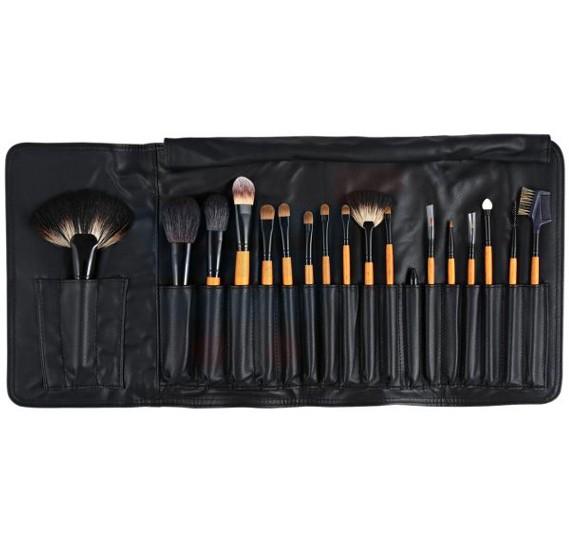 Ferrarucci Professional Makeup Brush Kit, 18 Pieces