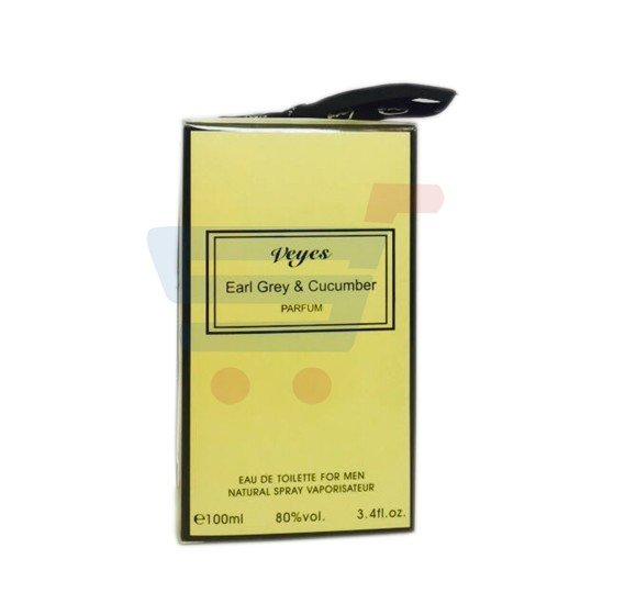 Veyes Earl Grey & Cucumber Perfume For Men 100ml