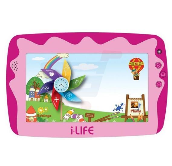 i-life KIDS TAB 4 WIFI Tablet 7 Inch Display 512MB RAM 8GB Storage Dual  Camera WIFI Android OS - Pink