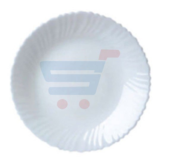 Royalford Opal Ware Spin Soup Plate RF5594
