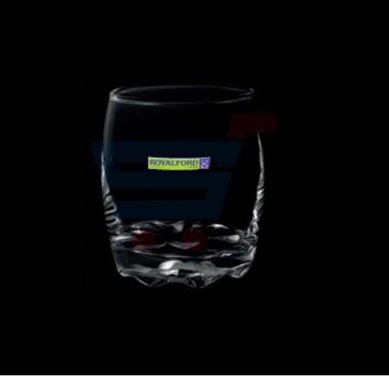 Royalford 10 Oz Clear Glass Tumbler 3Pc Set - RF7702