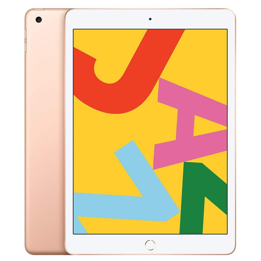 Apple iPad 7 10.2 inch 2019 7th Gen Wi-Fi, 32GB With Facetime -Gold