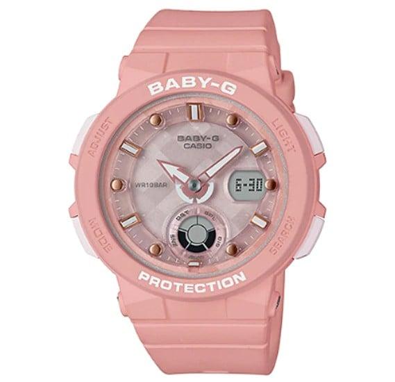 Casio Baby-G Analog Digital Women Watch, BGA-250-4ADR