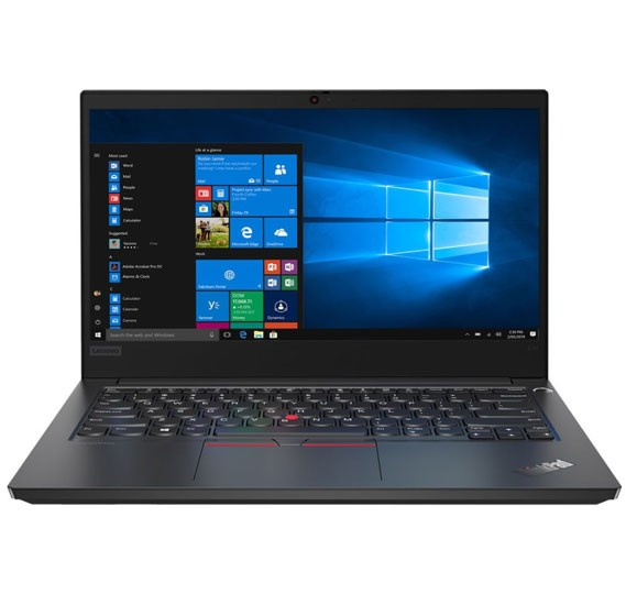 Lenovo E14 Notebook with 14 inch Full HD Display, Intel I7 10510U Processor, 8GB RAM, 1TB HDD, VGA-2GB, Windows 10, Black