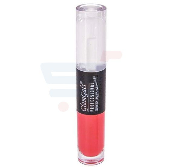 GlamGals Dual Lipgloss Red - DLG01