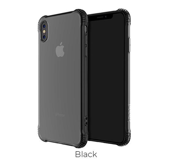Armor Series shatterproof soft case for iPhoneX/XS, Black