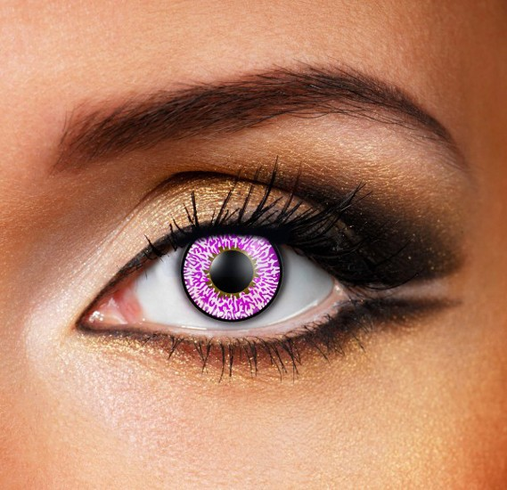 Violet 3 Tone Eye Accessory Complete Set Daily