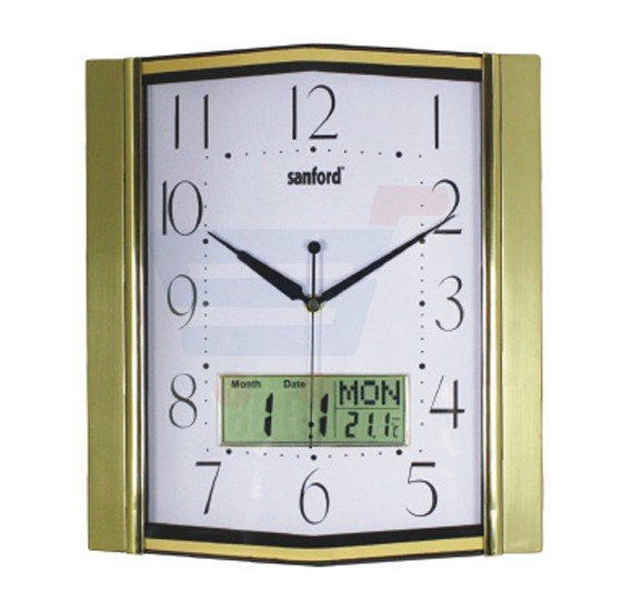Sanford Analog and Digital Wall Clock - SF056WC