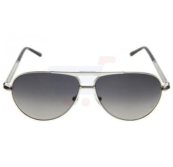 1c52b1d4635 Buy Mont Blanc Aviator Black Frame   Black Mirrored Sunglasses For Men -  MB517S-16B Online Dubai