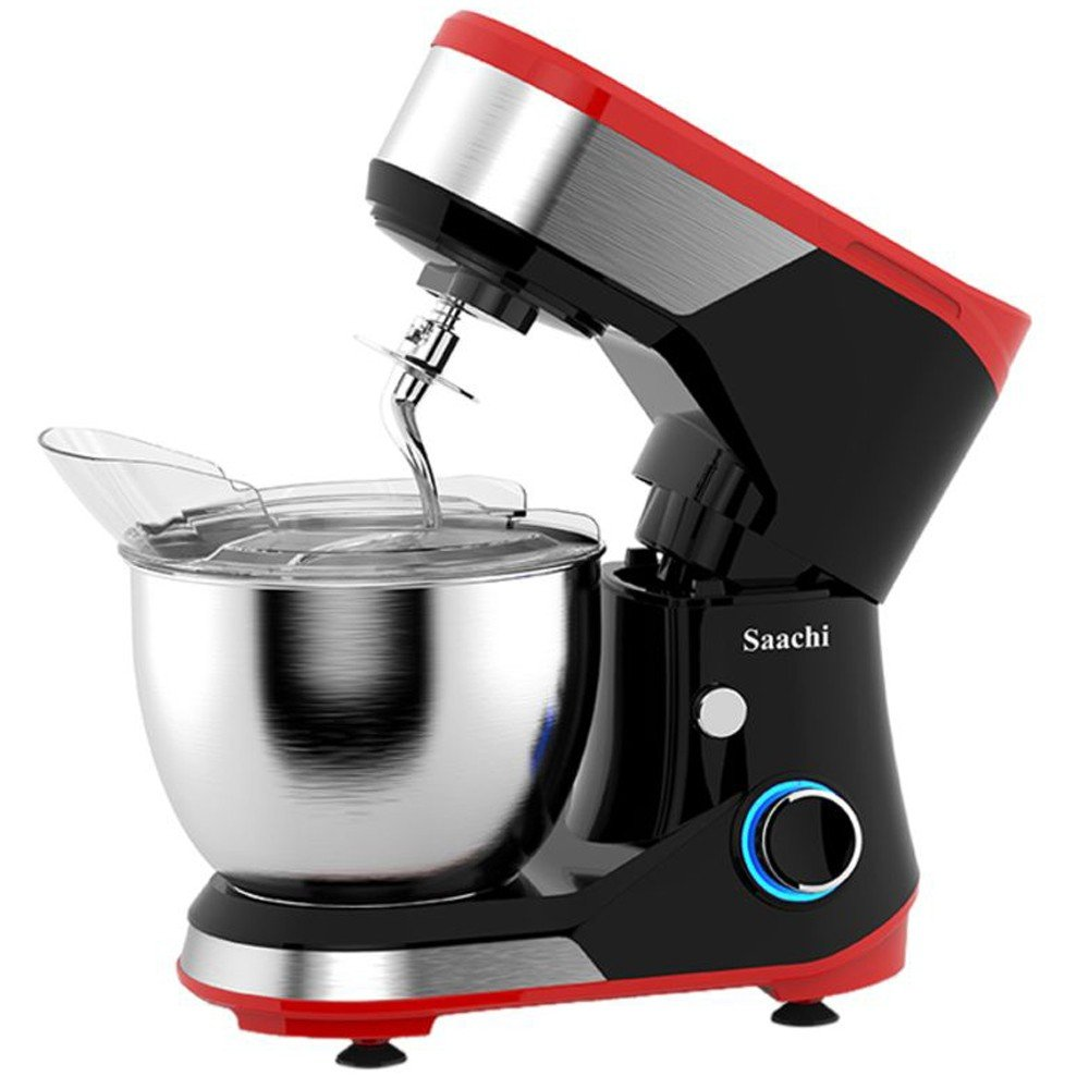 Saachi Electric Stand Mixer 1000W NL-SM-4174-RD, Red