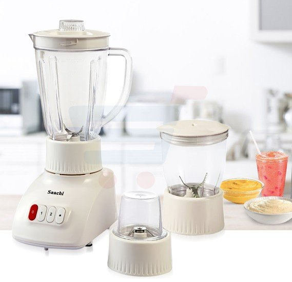 Saachi 3 in 1 Blender with unbreakable Jar  - BL‐4379
