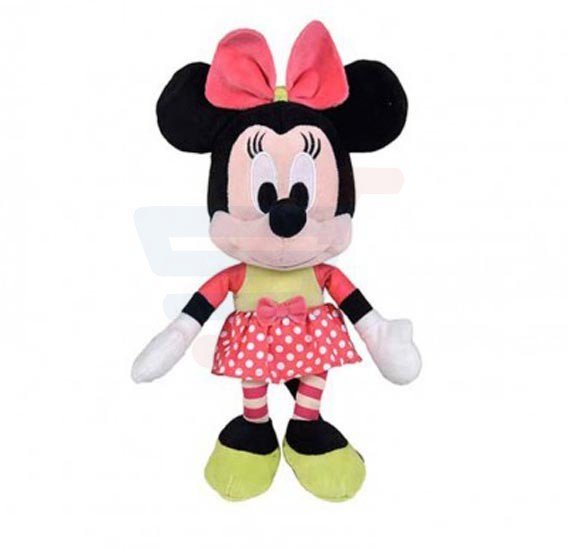 Disney Plush Mickey & Friends Minnie In Dotty Twist 10 inch Toy - PDP1400040