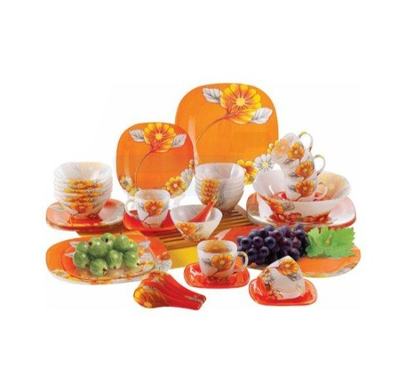 Flamingo Dinner Set 45 PCS - FL8409GDS