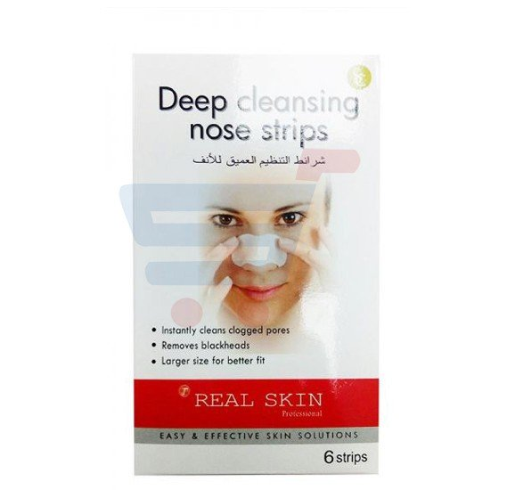 Real Skin Deep Cleansing Nose Strips