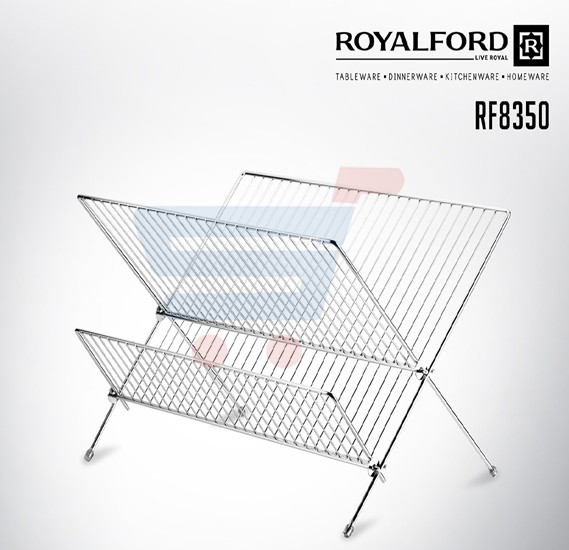 Royalford Foldable Dish Rack - RF8350