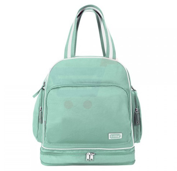 Sunveno Signature Maternity Diaper Bag Green