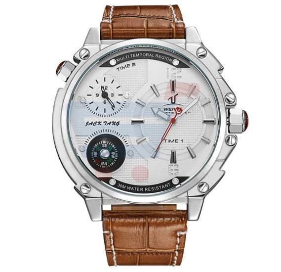 Weide Watches Men From Manufacturer Genuine Leather Watch Factory - 1507