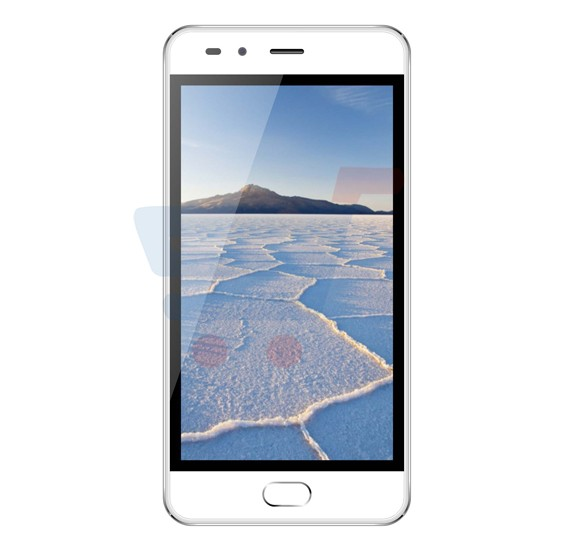 S-Color Q10 Smartphone, Android 5.1, 4.8 Inch Display, 1GB RAM, 4GB Storage, Dual Camera, Dual Sim, White