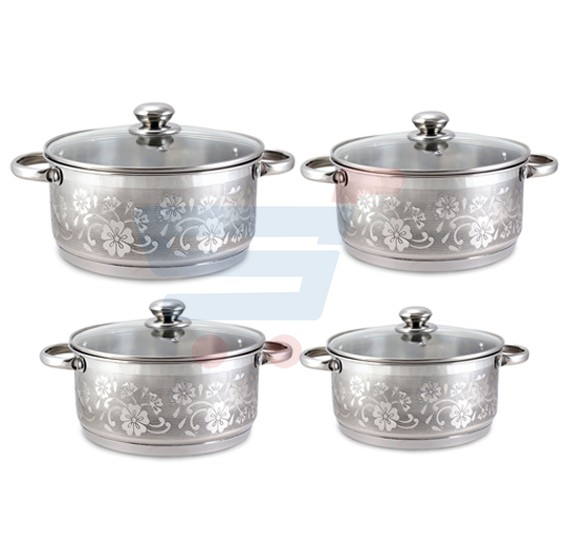 RoyalFord 8 Pcs Casserole Set- RF8409