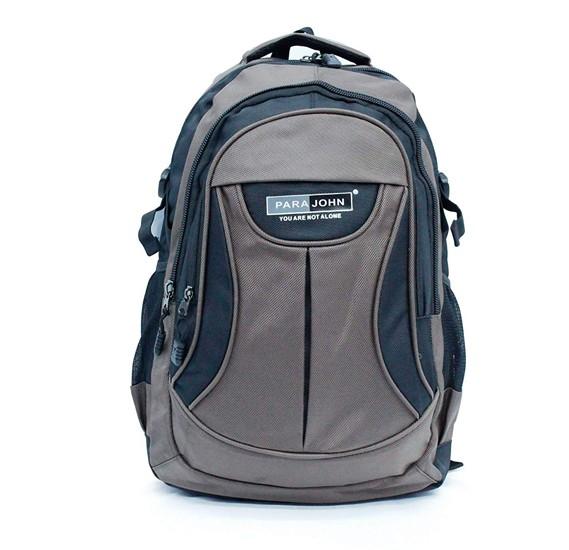 Parajohn School Bag 22 (18) Grey PJSB6002A22