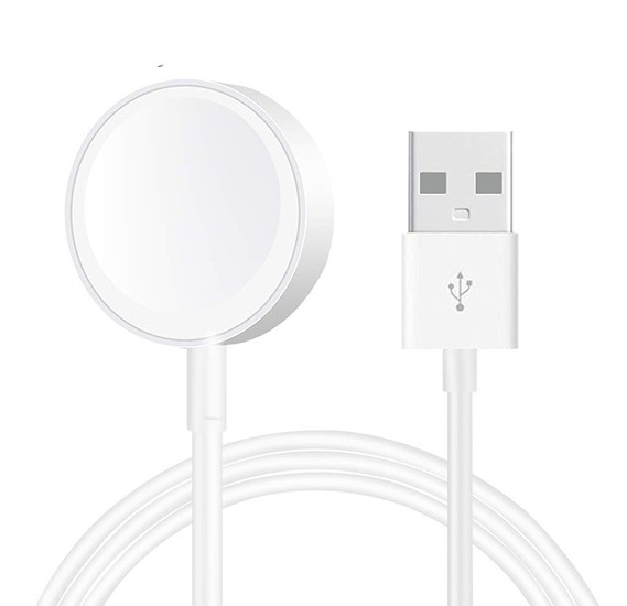 Generic Magnetic Charger For Apple Watch Series 2/3 White