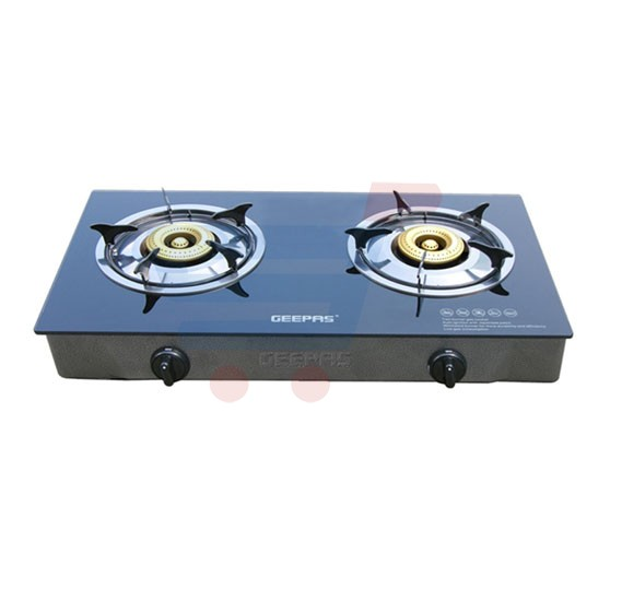 Geepas GK6858 Gas Stove With Two Burner