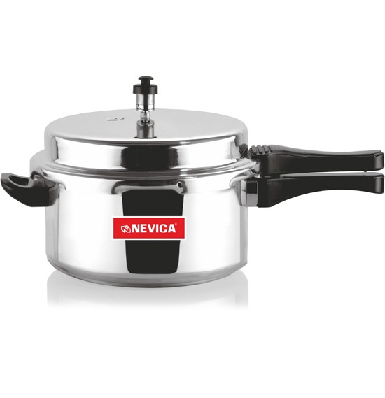 Nevica Aluminium Pressure Cooker Outer Lid 5 Ltrs