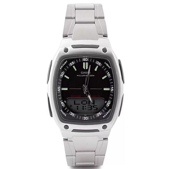 Casio  Combination Quartz Analog/Digital Watch  AW-81D-1AVDF