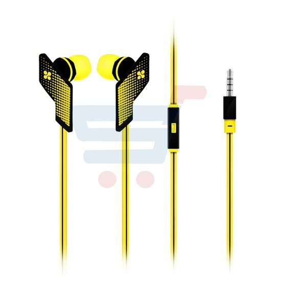 96d88798f48 Promate Comfort-Fit Universal Stereo Earphones with mic for Mobile Phone -  Swank.