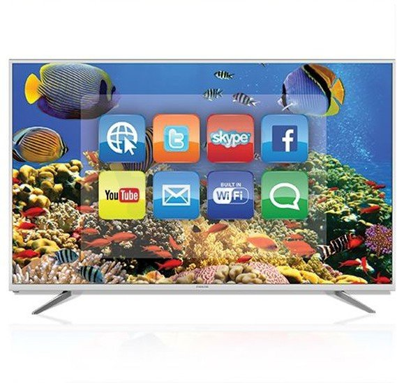 Nikai 75 Inch 4k Ultra HD Smart TV Silver UHD75SLEDT