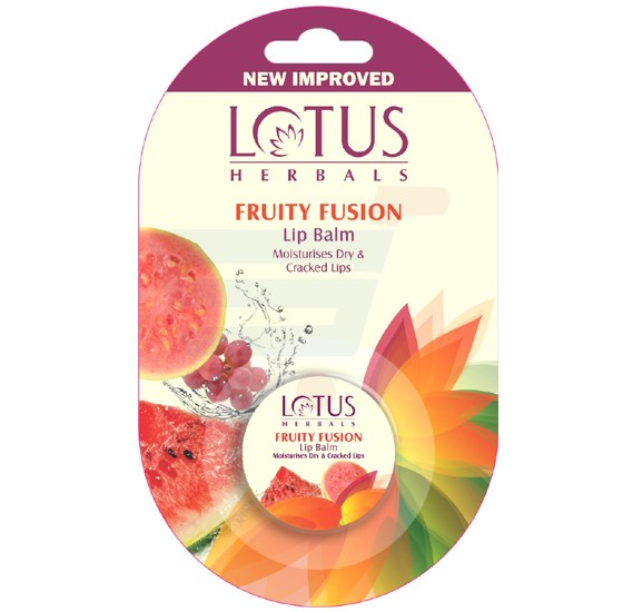 Lotus Lip Balm Fruity Fusion 5gm