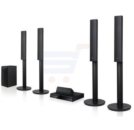 LG 3D Blue Ray Home Theater System, Full HD LHB655