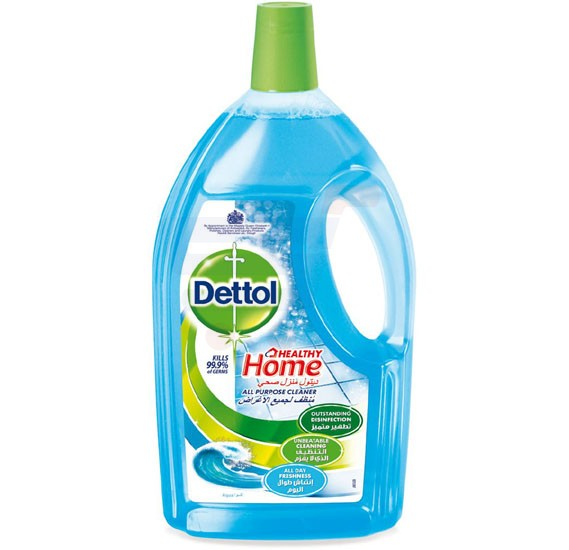 Dettol Healthy Home Aqua Fragrance All Purpose 4 in 1 Multi Action Cleaner 1.8L