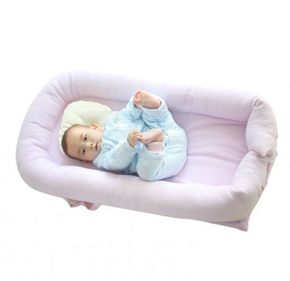 Merveilleux Buy Sunveno Baby Co Sleeping Bed Organic Pink Online Dubai, UAE |  OurShopee.com 21785