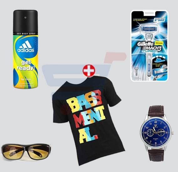 new arrivals d7374 1e684 Bundle Offer Adidas perfume, Gillette Match3, Blot T shirt, HD Vision   Night ...
