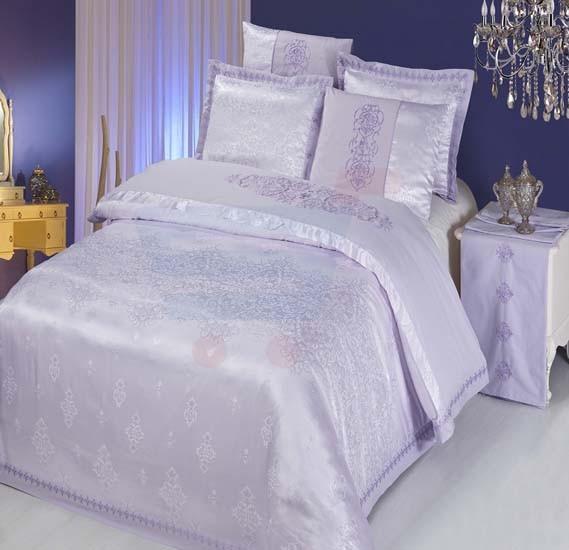 Senoures 100% Cotton Jacquard Quilt Cover 6Pcs Set King - SEJ-043