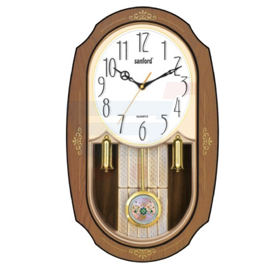 Sanford Analog Wall Clock - SF052WC
