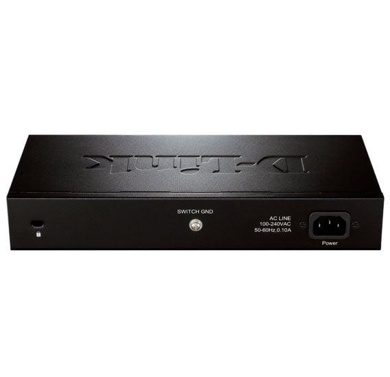 D-Link DES-1024D 24-Port Fast Ethernet Unmanaged Desktop Switch
