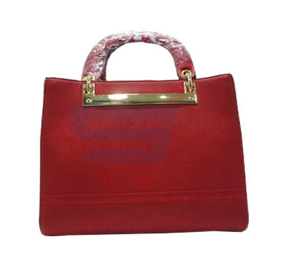 Susan Fashion Luxury Women Hand Bag Leather-Red