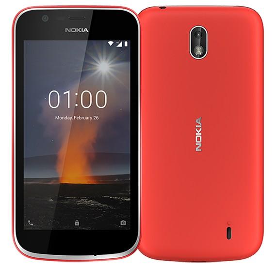 Nokia 1 8 GB, 1 GB RAM Red