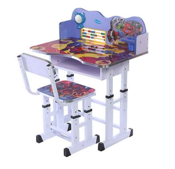 Mastela piderman Study Table And Chair Blue/White, Toys4you