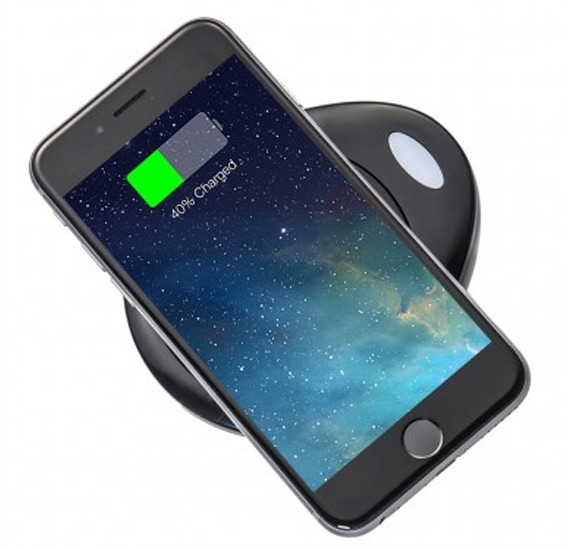 Buy Multi-Color Wireless Charging Pad For All Qi Supported ...