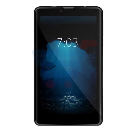 Mione M701 4G Tablet, Android OS, 7.0 Inch IPS HD Display, 1GB RAM, 16GB Storage, Dual Camera, Dual Sim- Black