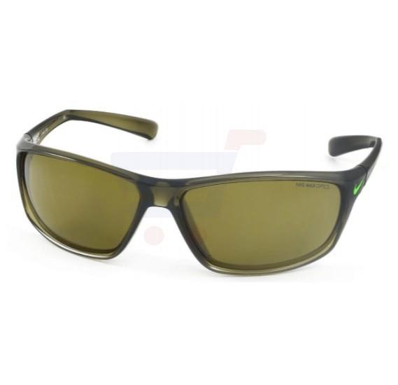Nike Rectangular Green Strike Frame & Gradient Mirrored Sunglasses For Unisex - EVO0603-303