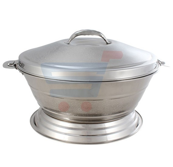 Royalford Stainless Steel Melody Hot Pot With Stand 6 Ltr - RF7485