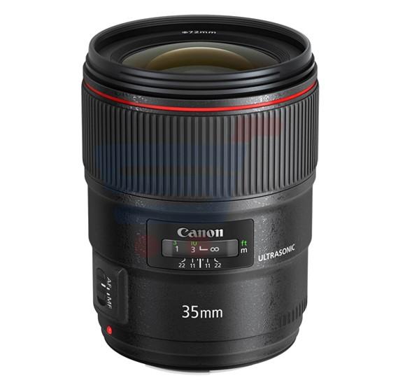 Canon EF 35mm F 1.4L II USM Lense-Black