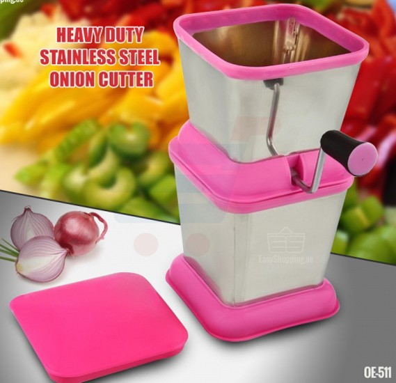 Olympia Stainless Steel Manual Onion Cutter, OE511