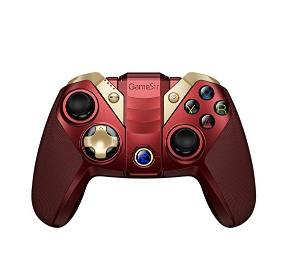 GameSir M2 Bluetooth Game Controller Wireless MFi Game Controller Gamepad  for iPhone iPad Pro Mini Air Mac Apple TV Red