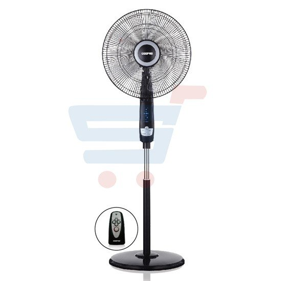Geepas Stand Fan With Remote Control, LED Display, Heavy Duty Motor,GF9489
